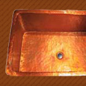 Linkasink Copper Farmhouse Kitchen Sink